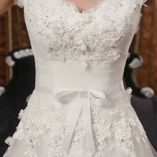 Bowknot Wedding Dress
